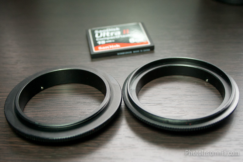 Reverse mount ring - showing Lens screw-in side