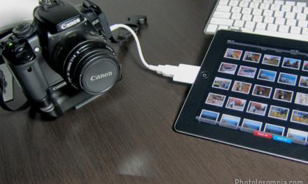 Photo Backup with your iPad