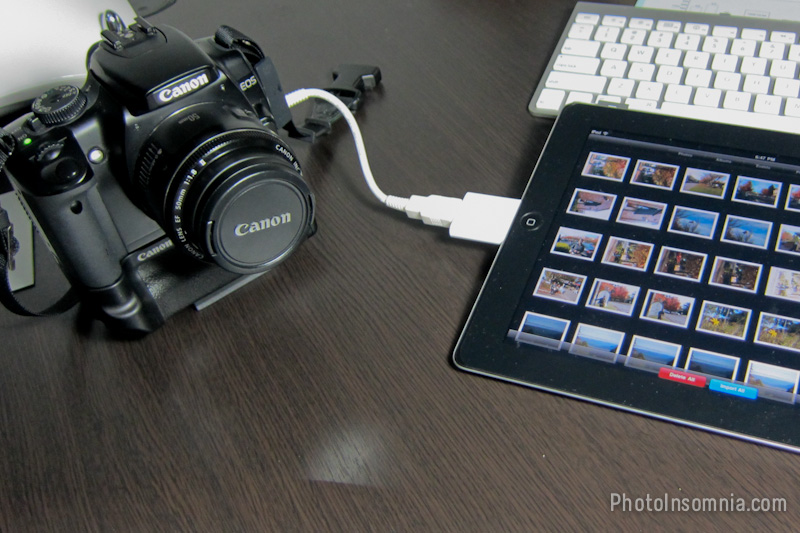 Photo Backup with your iPad