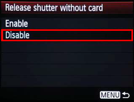 Disable