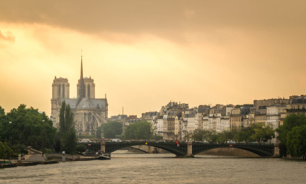 The Storm Approaches – Notre Dame, Paris