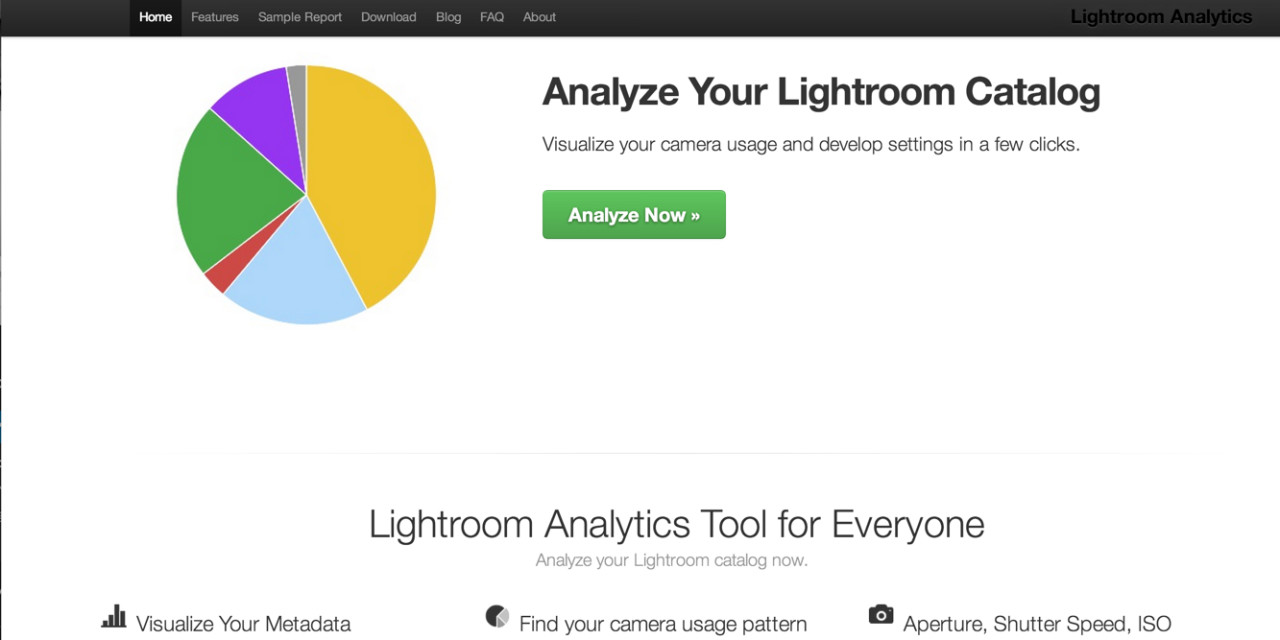 Lightroom Analytics – What kind of Photographer are You?