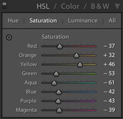 Hue Saturation