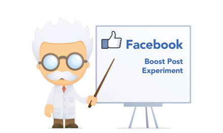 Facebook – Boost Post Experiment