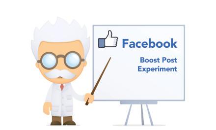 Facebook – Boost Post Experiment