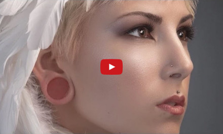 Portrait Retouching using Frequency Seperation