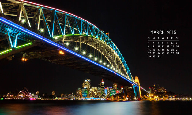Free Calendar Wallpaper – March 2015