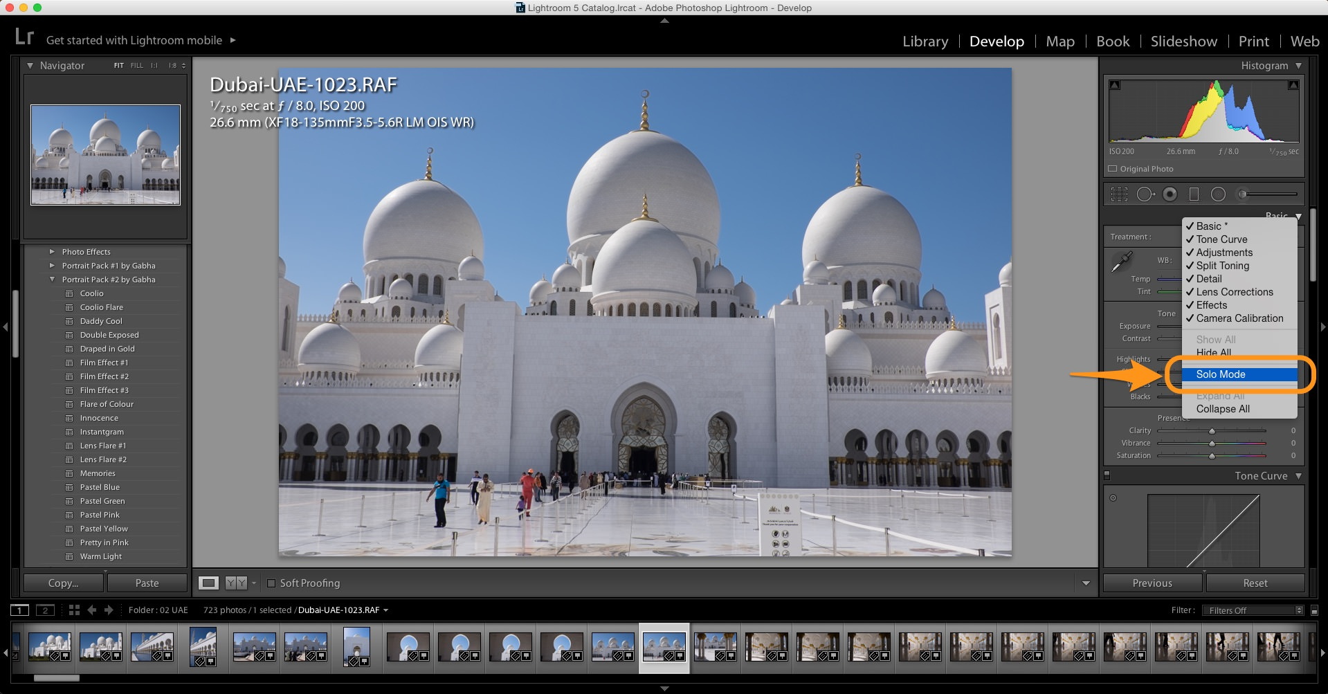 Take Minutes off Your Lightroom Workflow with Solo Mode