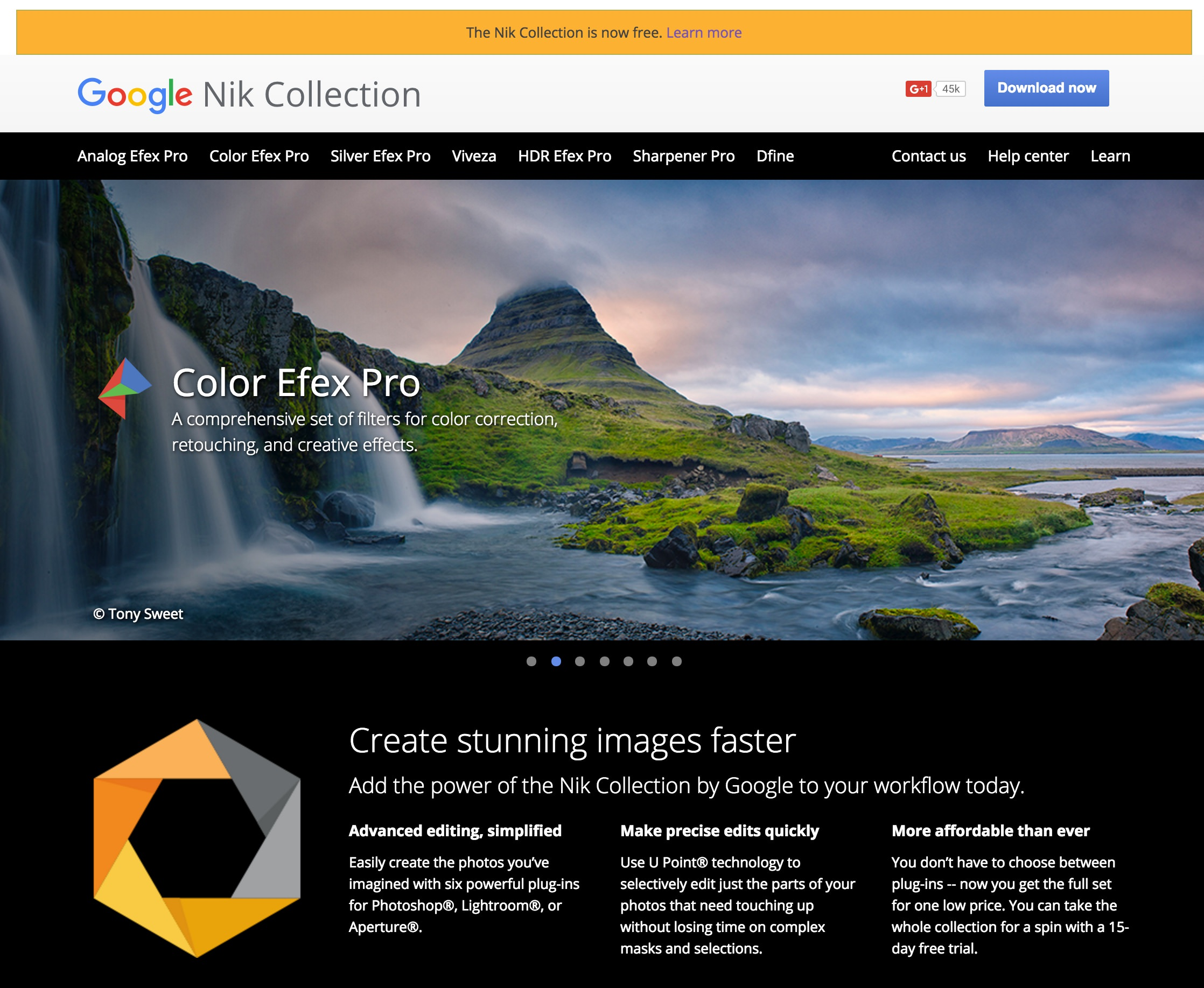Google Nik Collection now Free (save $150)