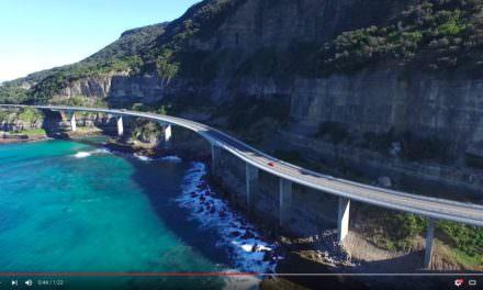 Sea Cliff Bridge – Drone Video