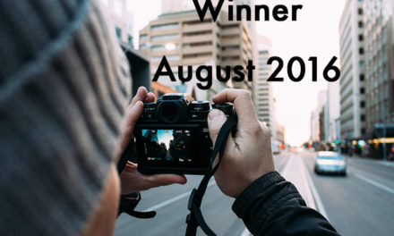 August Winner Announced