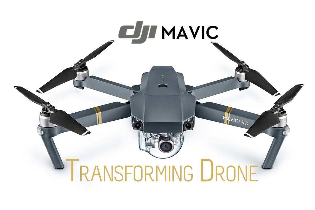 DJI Mavic Pro 4K Drone – The Transformer