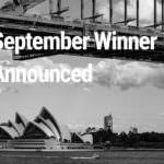 September Winner Announced