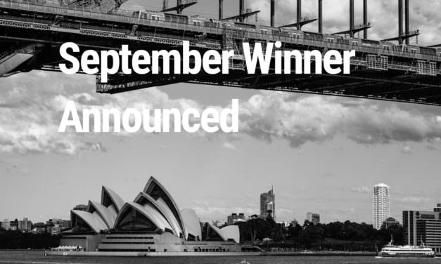 September Winner Announced