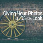 Giving Your Photos a Classic Look with Analog Efex Pro 2