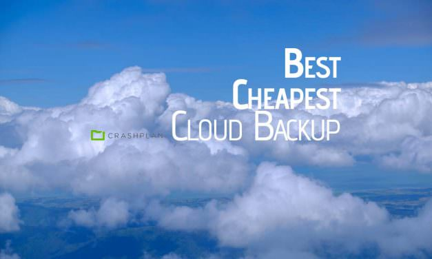 The best and cheapest Cloud Backup for Photographers – CrashPlan