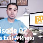 Let's Edit a Photo – Editing in Luminar – LEAP 02