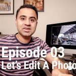 Let's Edit a Photo – How to Create HDR Look in Lightroom from Single Photo – LEAP 03
