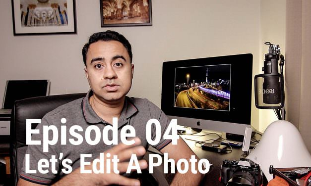 Let's Edit a Photo – How to Edit Light Trails (Multiple exposures) in Photoshop – LEAP 04