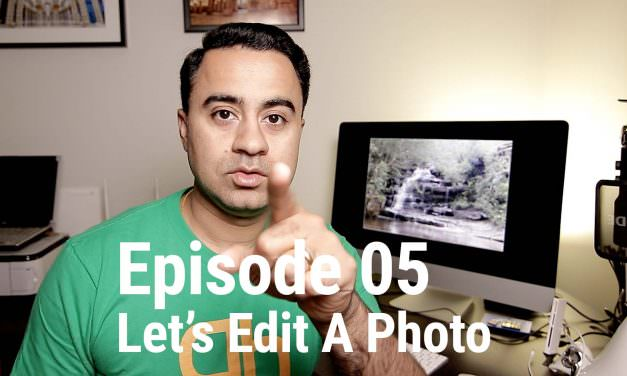 Let's Edit a Photo – How to Edit B&W Image in Lightroom – LEAP 05