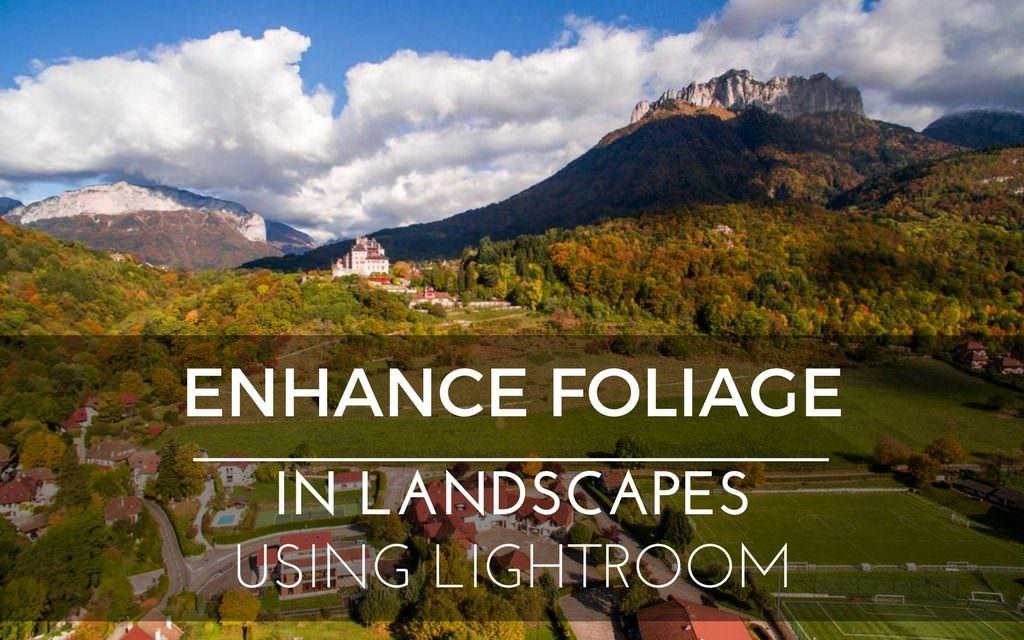 Enhance Foliage in Landscapes using Lightroom