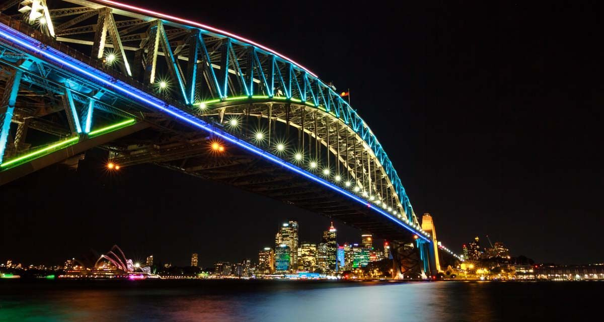 7 Tips for shooting Vivid Sydney (Night Photography)