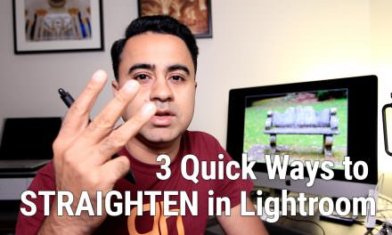 Lightroom Tip – 3 Ways to Straighten an Image