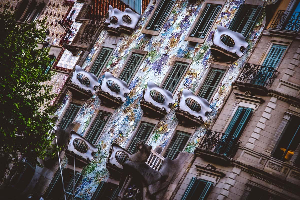 Balconies of Barcelona