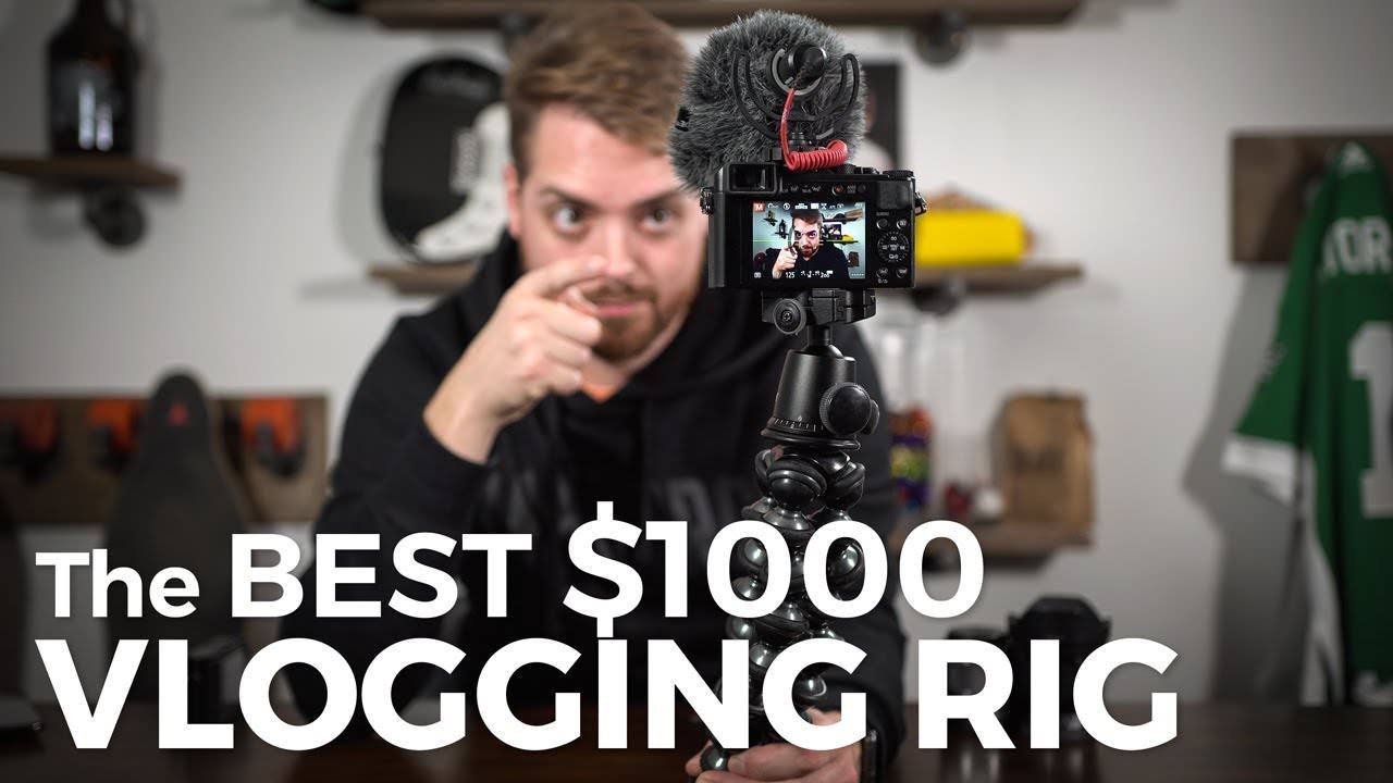 Vlog setup for under $1000
