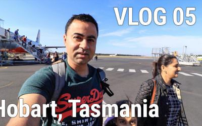 VLOG 05 – Heading to Hobart