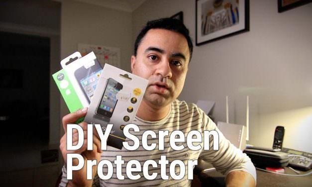 DIY Camera LCD Protector