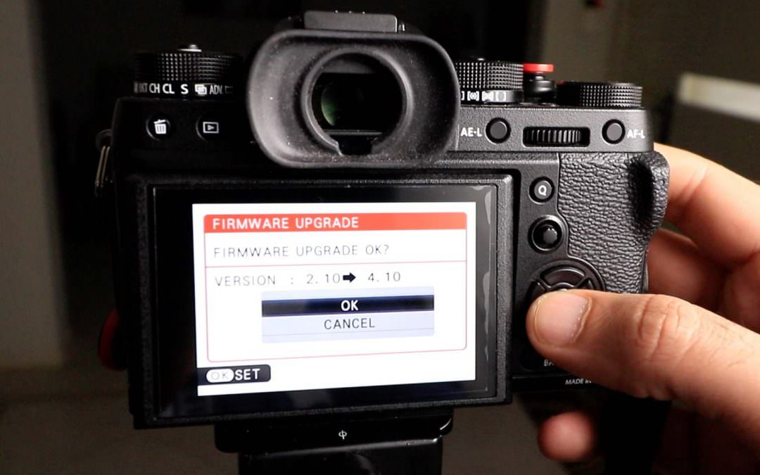 X-T2 Firmware 4.10 Upgrade