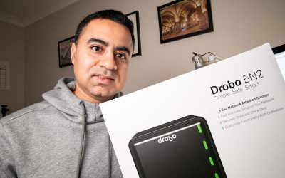 Migrating Lightroom to Drobo 5N2