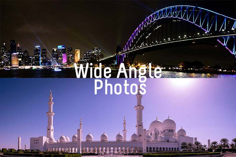 Wide Angle photos without a Wide Angle Lens