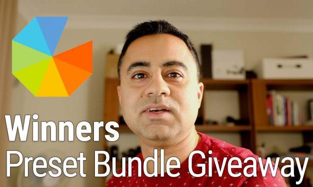 Winners of Sept 2018 Preset Bundle Giveaway