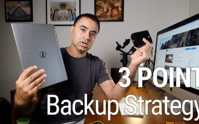 3 Point Backup Strategy for Travel