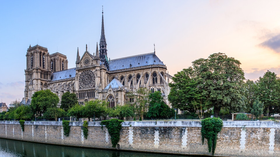 Cathedral of Notre Dame Burns in Paris