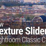 Lightroom Texture Slider