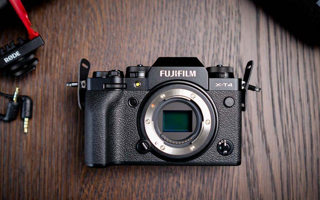 Unboxing Fujifilm X-T4