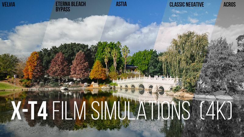 Fujifilm X-T4 ALL Film Simulations