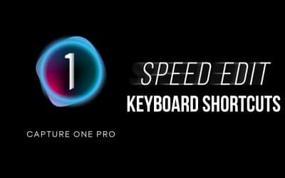 Capture One Speed Edit Keyboard Shortcuts