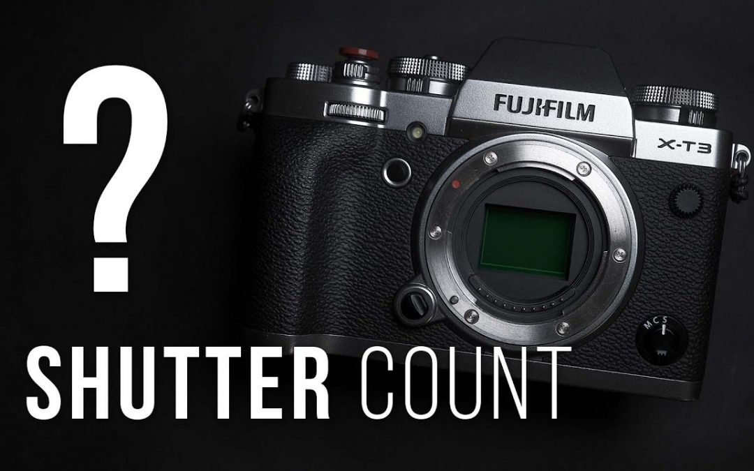 FUJIFILM – How to find shutter count?